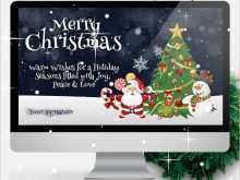 75 Creating Christmas Card Templates Powerpoint For Free with Christmas Card Templates Powerpoint