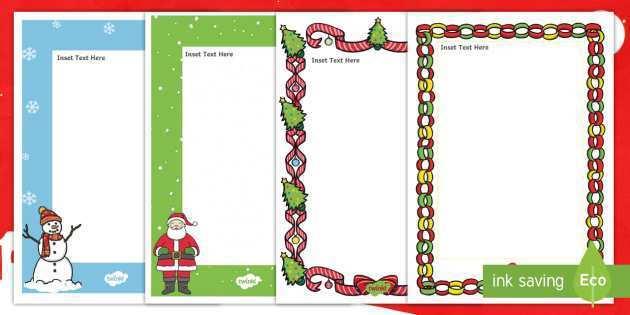 75 Creative Christmas Card Templates A4 PSD File by Christmas Card Templates A4