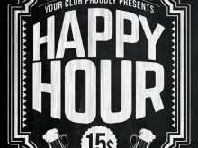 75 Creative Happy Hour Flyer Template Free Maker with Happy Hour Flyer Template Free
