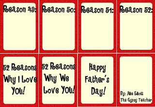 75 Customize Our Free 52 Reasons Card Template Free Templates with 52 Reasons Card Template Free