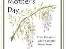 75 Customize Our Free Happy Mothers Day Card Templates Download with Happy Mothers Day Card Templates