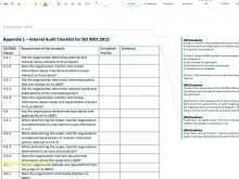 75 Format Audit Plan Form Template Formating for Audit Plan Form Template