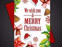 Christmas Greeting Card Template Free Download