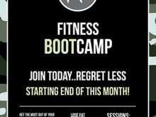 75 Free Fitness Boot Camp Flyer Template With Stunning Design for Fitness Boot Camp Flyer Template