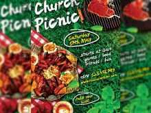 75 Free Printable Church Picnic Flyer Templates in Word by Church Picnic Flyer Templates