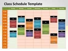 75 Free Printable Class Schedule Template Powerpoint in Photoshop by Class Schedule Template Powerpoint