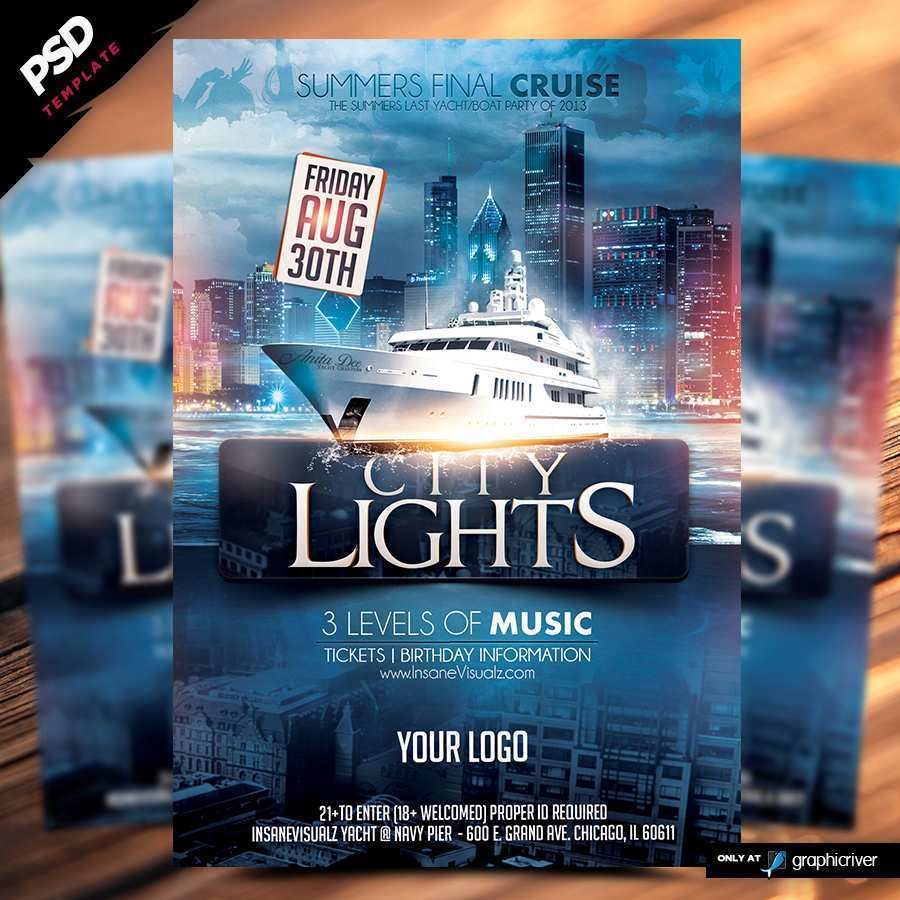 75 Online Boat Cruise Flyer Template Formating for Boat Cruise Flyer Template