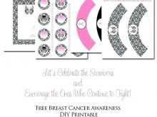 75 Online Breast Cancer Awareness Flyer Template Free Formating for Breast Cancer Awareness Flyer Template Free