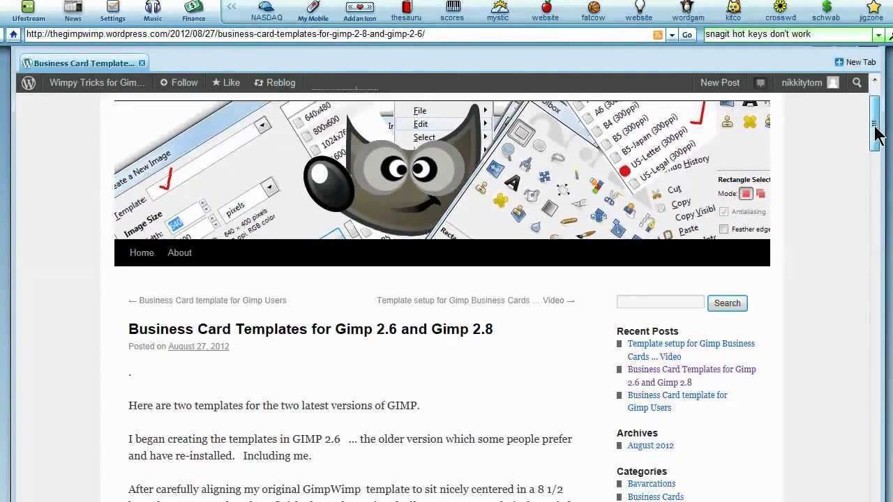 75 Online Business Card Templates Gimp Now for Business Card Templates Gimp