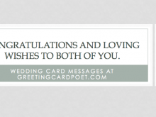 75 Online Wedding Card Wishes Template in Word with Wedding Card Wishes Template