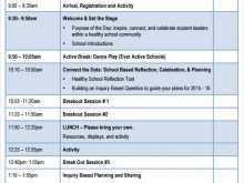 Meeting Agenda Format Examples