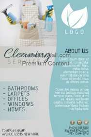 75 Report Cleaning Flyers Templates Formating for Cleaning Flyers Templates