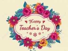 75 Standard Card Template For Teachers Day Templates with Card Template For Teachers Day