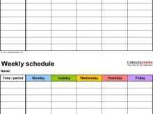 75 Standard Class Schedule Template Microsoft Word in Word by Class Schedule Template Microsoft Word