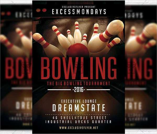 75 Visiting Bowling Flyer Template Free Now for Bowling Flyer Template Free