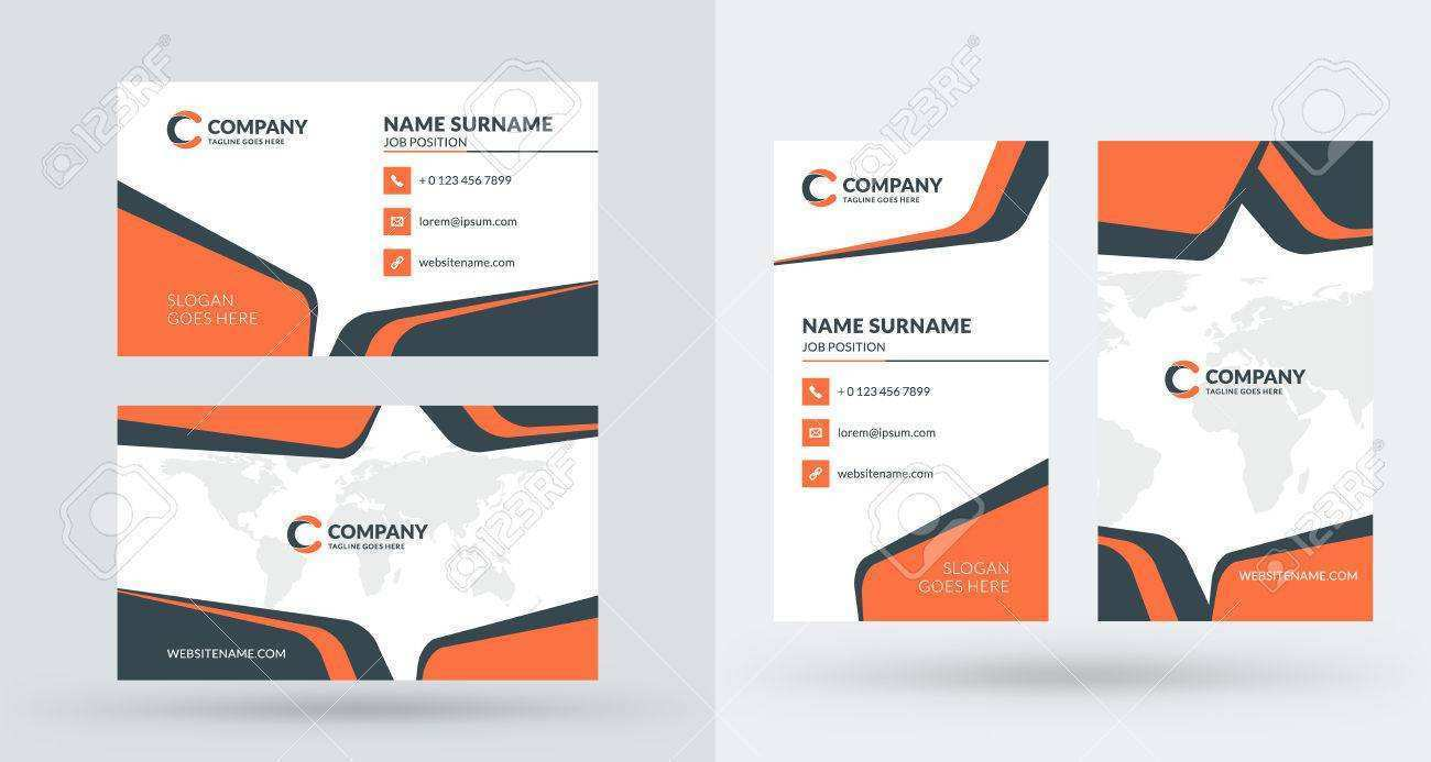 75 Visiting Business Card Template Landscape Now with Business Card Template Landscape