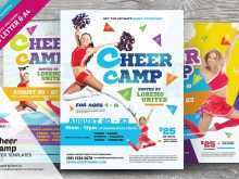 75 Visiting Cheer Camp Flyer Template Photo with Cheer Camp Flyer Template