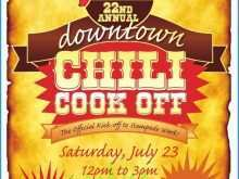 76 Adding Chili Cook Off Flyer Template in Word by Chili Cook Off Flyer Template