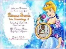 76 Blank Cinderella Birthday Card Template Maker with Cinderella Birthday Card Template