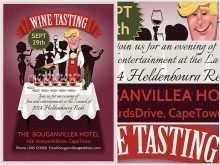 76 Create Wine Tasting Event Flyer Template Free For Free for Wine Tasting Event Flyer Template Free