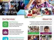 76 Creative Child Care Flyer Templates Templates by Child Care Flyer Templates