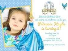 76 Creative Cinderella Birthday Card Template For Free for Cinderella Birthday Card Template