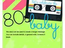76 Customize 80S Birthday Card Template in Photoshop by 80S Birthday Card Template