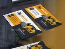 76 Customize Business Card Templates Construction PSD File with Business Card Templates Construction