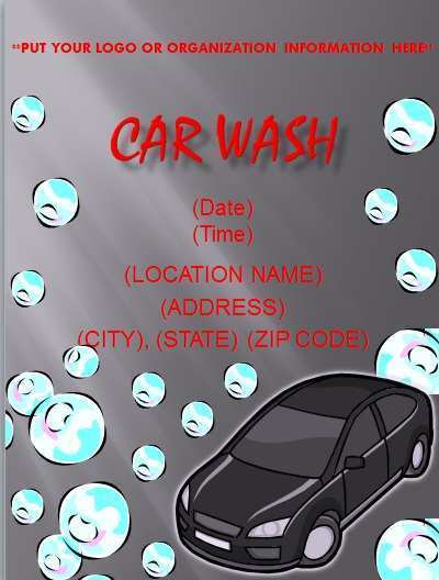76 Customize Our Free Car Wash Flyer Template Free Download by Car Wash Flyer Template Free
