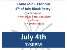 76 Format Block Party Template Flyer For Free for Block Party Template Flyer
