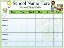76 Format Weekly School Schedule Template Word Photo with Weekly School Schedule Template Word
