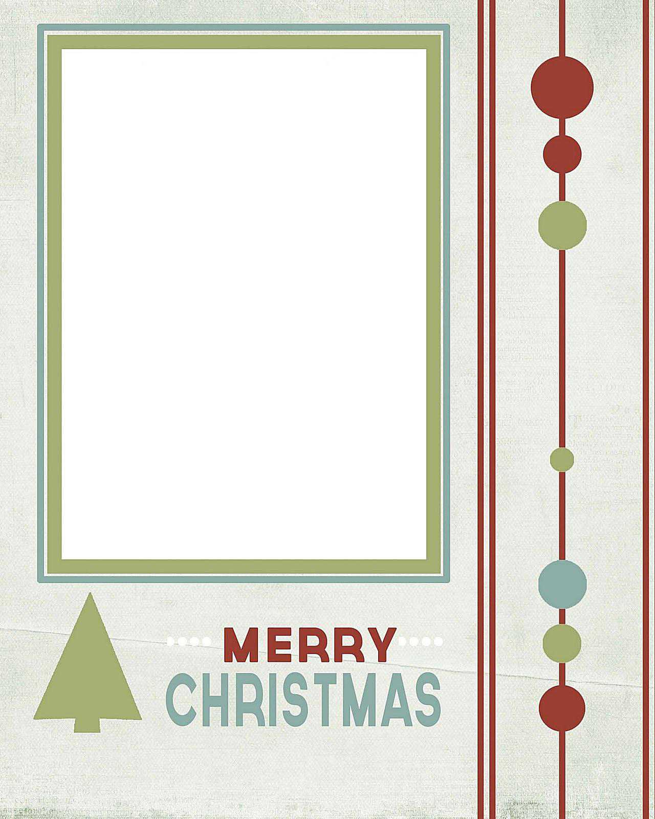 76 Free Christmas Card Template To And From Download by Christmas Card Template To And From