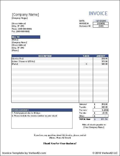 76 Free Printable Invoice Template Open Office For Free By Invoice Template Open Office Cards Design Templates