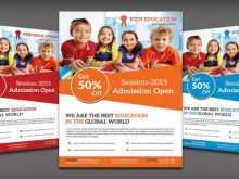 76 Online Free Education Flyer Templates With Stunning Design by Free Education Flyer Templates