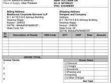 76 Printable Tax Invoice Format For Gst Formating for Tax Invoice Format For Gst