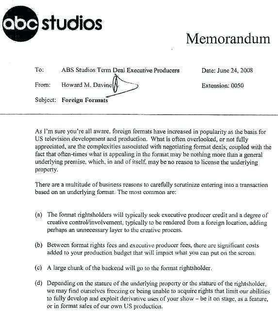 Tv Show Format Template from legaldbol.com