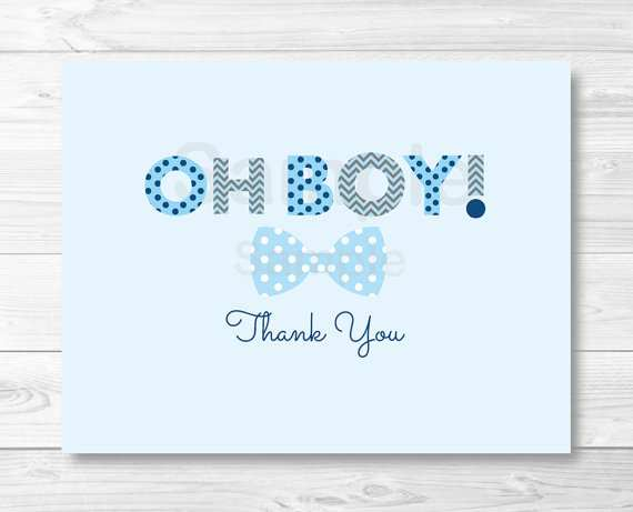 76 Report Baby Thank You Card Template Printable in Photoshop with Baby Thank You Card Template Printable