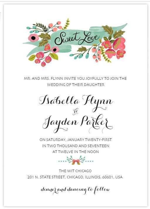 76 Simple Wedding Card Templates by Simple Wedding Card Templates