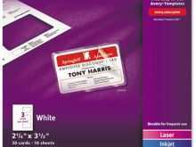 76 The Best Avery Laminated Id Card Template in Word by Avery Laminated Id Card Template