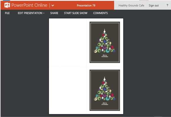 76 Visiting Christmas Card Templates In Powerpoint Layouts by Christmas Card Templates In Powerpoint