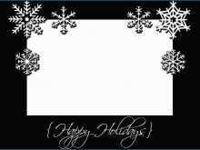 77 Adding Christmas Card Templates Printable Black And White For Free with Christmas Card Templates Printable Black And White