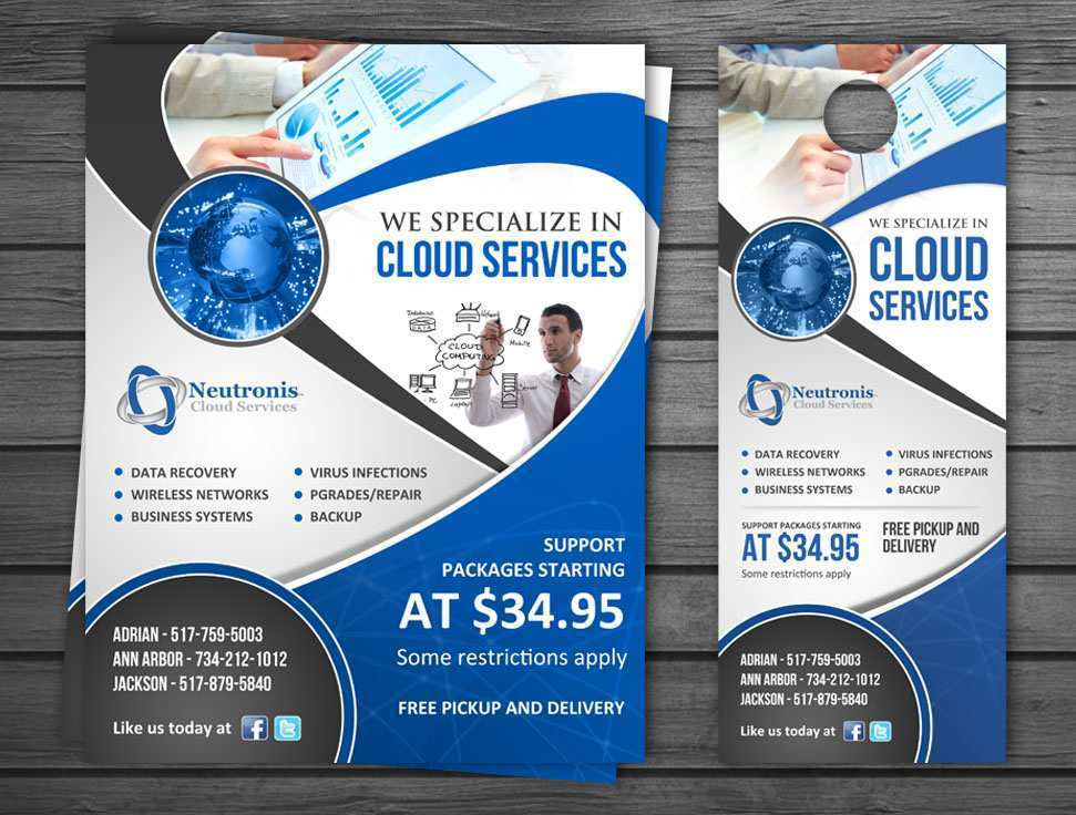 Computer Repair Flyer Template Free Download from legaldbol.com