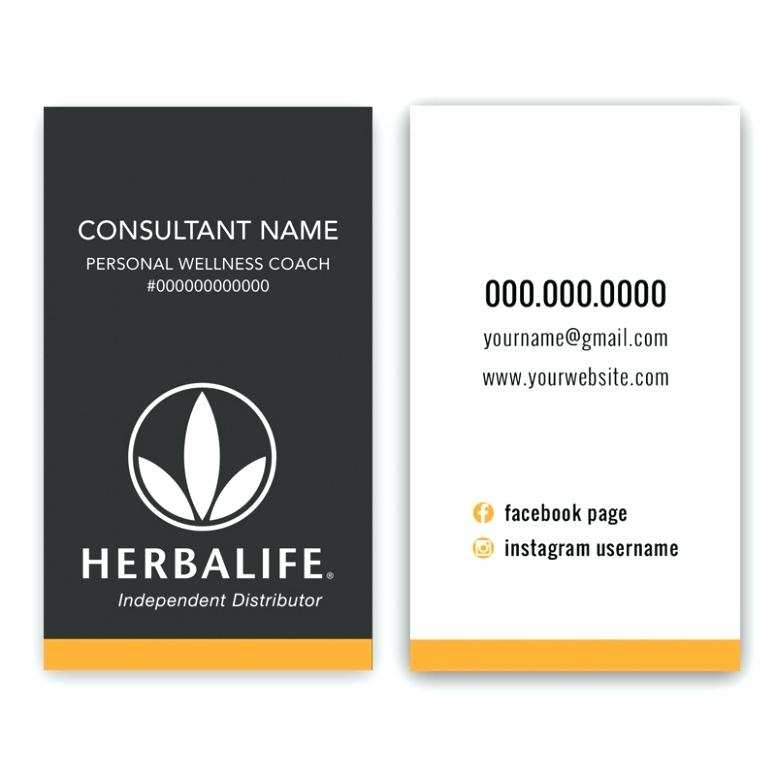 77 Best Herbalife Business Card Template Download Download For Herbalife Business Card Template Download Cards Design Templates