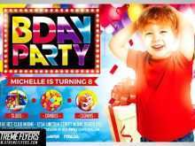 77 Blank Birthday Party Flyer Template by Birthday Party Flyer Template