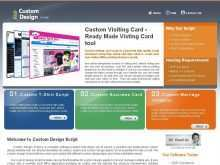 77 Blank Business Card Online Design Script Download with Business Card Online Design Script