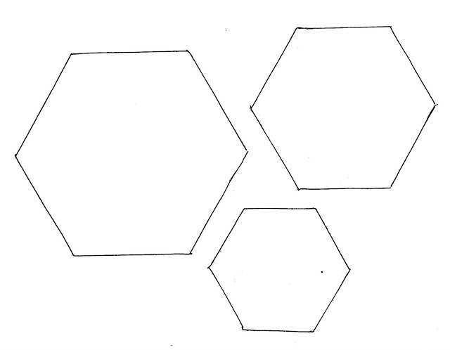 77 Blank Card Hexagon Template Now for Card Hexagon Template