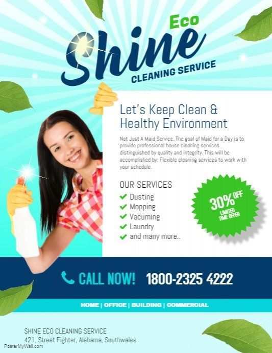 77 Blank Cleaning Services Flyers Templates in Photoshop by Cleaning Services Flyers Templates