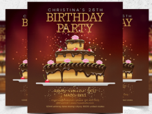 77 Blank Free Birthday Flyer Template Word in Photoshop for Free Birthday Flyer Template Word
