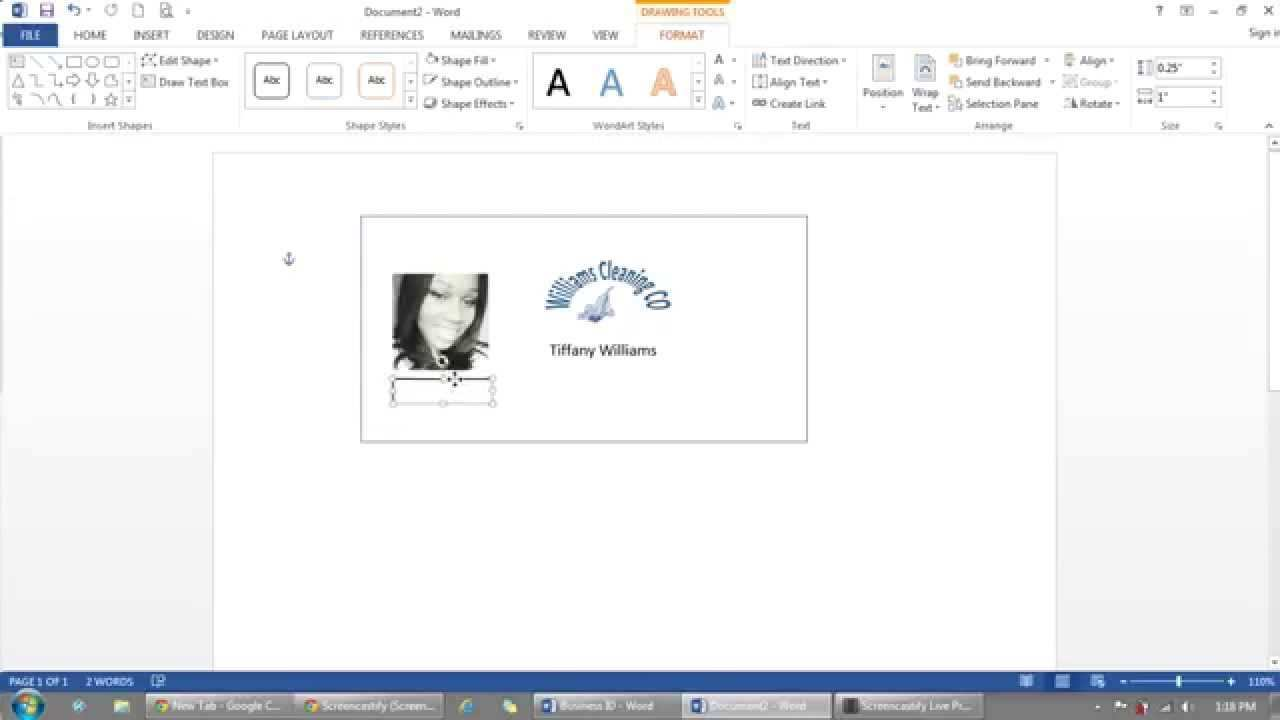 77 Creating Word Id Card Templates Templates with Word Id Card Templates