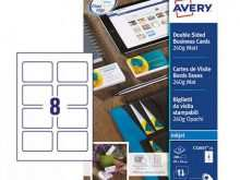 77 Creative Avery Business Card Template C32011 Now by Avery Business Card Template C32011